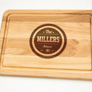 Personalized Cutting Board Gift Eng..