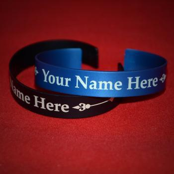 Your Name Bracelet - HIgh quality Anodized Aluminum Bracelet made just for you